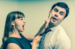Funny marriage advice. Wife angry with husband