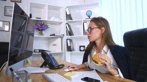 busy career woman